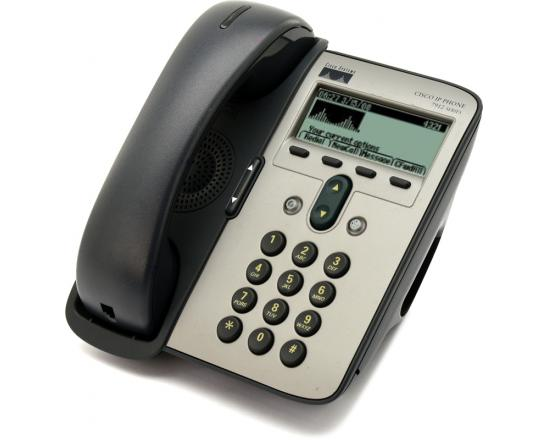 Cisco Unified CP-7912G Charcoal IP Display Phone - Grade A