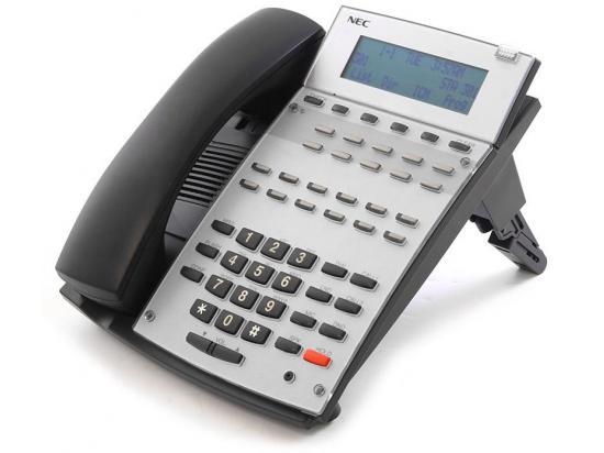 NEC  Aspire IP1NA-12TXH 22-Button Black Display Phone (0890043) - New