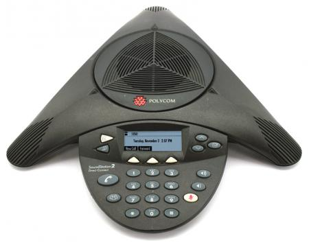 Meridian Polycom SoundStation 2 Direct Connect 550D Conference Phone  (2200-17120-001)