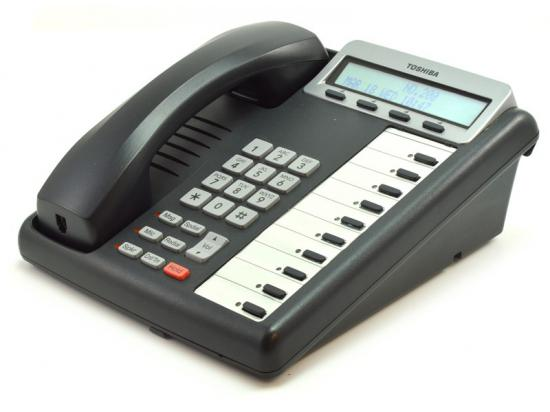 Toshiba Strata 10-Button Charcoal Display Speakerphone (DKT3210-SD)