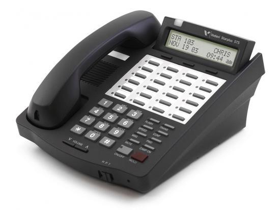 Vodavi Starplus STS 3515-71 Black 24-Button Digital Display Speakerphone