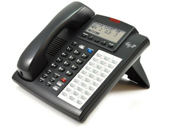 ESI Communications 48-Key IPFP Charcoal Phone