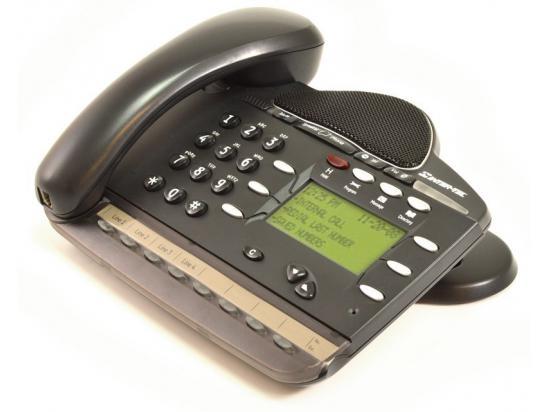 Inter-Tel Encore CX/Mitel 3000 8 Button Black Display Phone (618.5015, LR5829.06200)