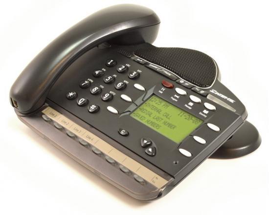 Inter-Tel Encore CX/Mitel 3000 8 Button Black Display Phone (618.5115, LR5829.06200, 4110)