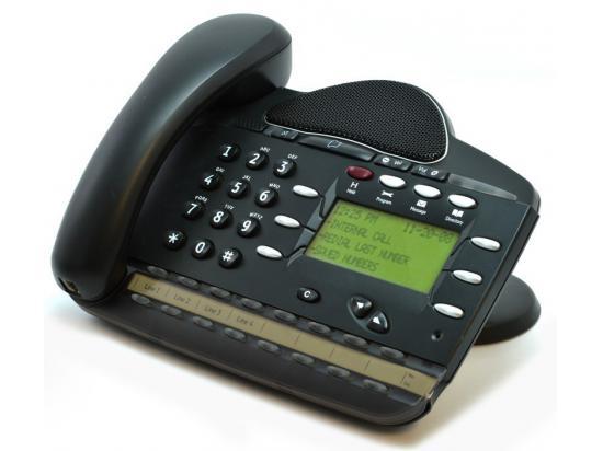 "Inter-Tel Encore CX/Mitel 3000 16 Button Black Display Phone (618.5020) ""Grade B"""