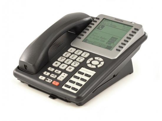Toshiba Strata IPT2008-SDL 16-Button Charcoal IP Large Display Speakerphone