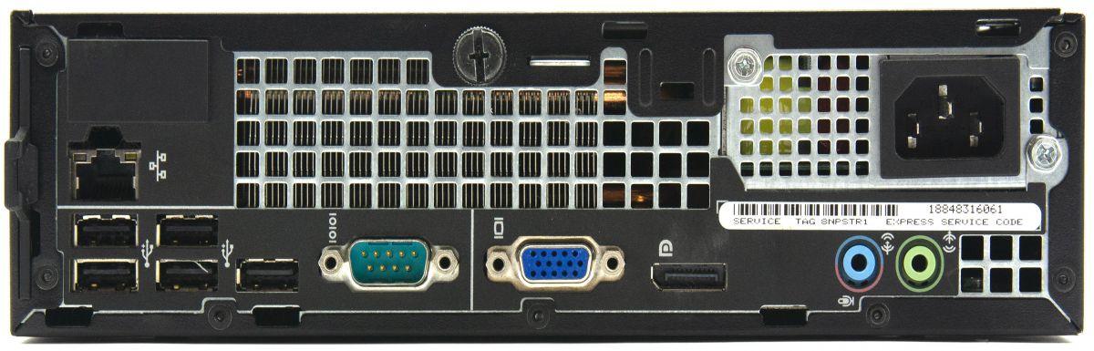 Dell OptiPlex 990 Computer Interface View