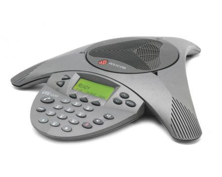 Polycom SoundStation VTX 1000 Conference Phone w/ Power Module (2200-07300-001, 2201-07142-001)