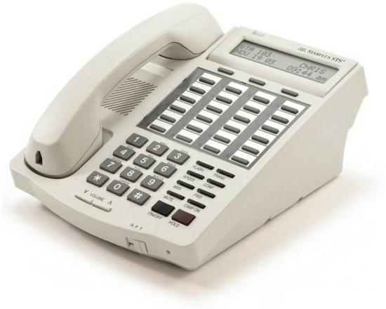 Vodavi Starplus STS 3515-08 24-Button White Digital Display Speakerphone - Grade A