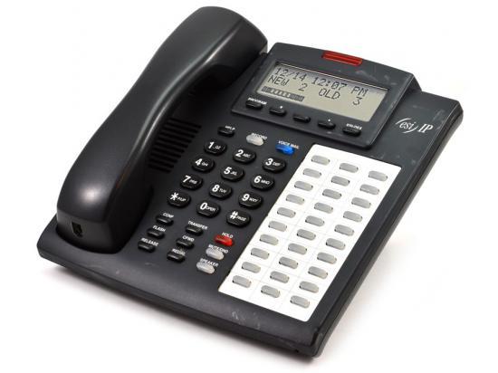 "ESI Communications 48-Key H IPFP Charcoal Phone w/ Headset Jack ""Grade B"""