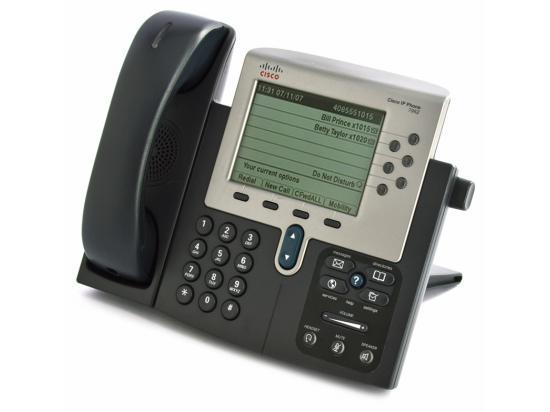 Cisco CP-7962G Charcoal IP Display Speakerphone