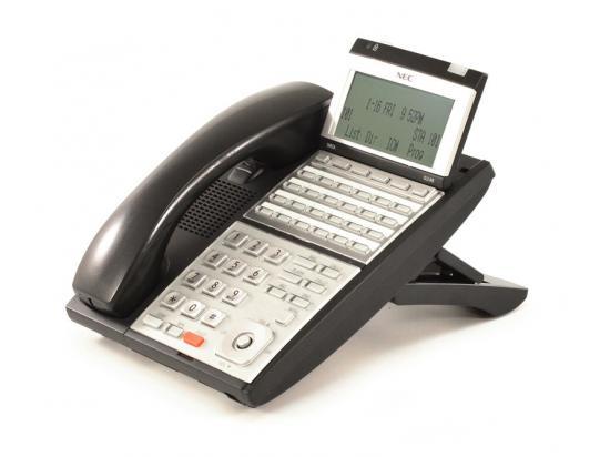 NEC UX5000 IP3NA-24TIXH 24-Button Black IP Display Phone - Grade A