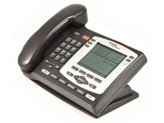 Nortel IP Phone 2004 (NTDU92) Charcoal with Silver Bezel