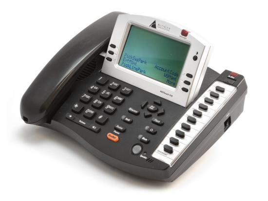 Altigen AltiTouch 510 Charcoal IP Display Speakerphone - Grade B
