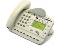 Inter-tel Encore CX/Mitel 3000 8 Button White Display Phone (618.6000)