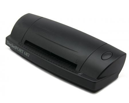 Ambir DocketPORT 687 USB Card Scanner - Grade A