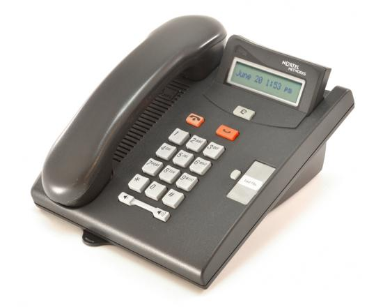 Nortel Norstar T7100 Charcoal Display Phone (NT8B25)