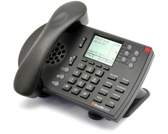 ShoreTel 265 Black IP Color Display Phone IP265 - Grade A