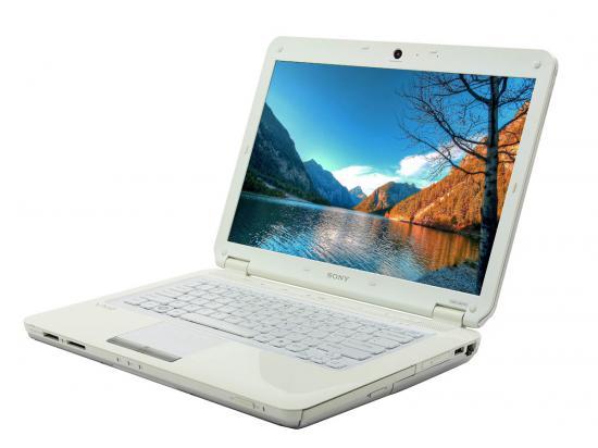 "Sony Vaio VGN-CS215J 14"" Laptop Intel Core 2 Duo (T6400) 2.0Ghz 2GB DDR2 250GB HDD - Grade A"