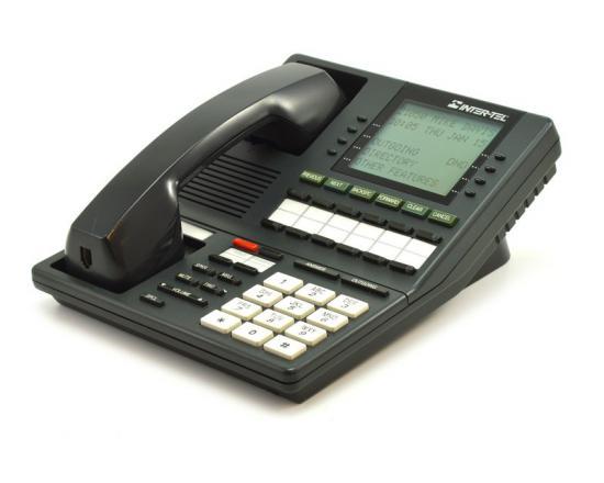 Inter-tel Axxess 550.4100 Charcoal Executive Display Speakerphone