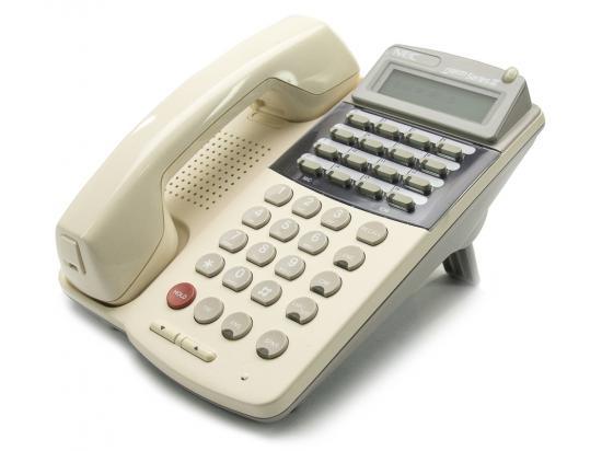 NEC ETJ-16DC-1 16-Button White Display Speakerphone