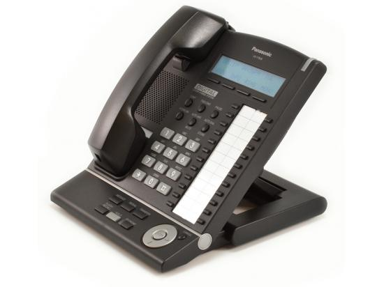 Panasonic KX-T7630-B 24 Button Digital Display Telephone Charcoal - Refurbished