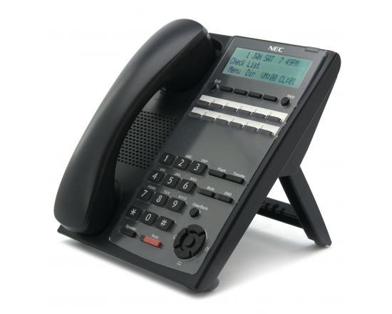 NEC IP4WW-12TXH (PN:1100061)  SL1100 12-Button Full Duplex Telephone (Black)