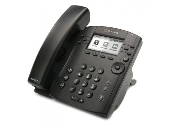 Polycom VVX 311 IP Display Phone w/Power Adapter