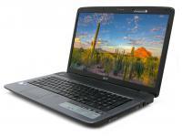 "Acer Aspire 7736Z-4088 17.3"" Laptop Intel Dual Core (T4400) 2.20GHz 2GB DDR2 250GB HDD"