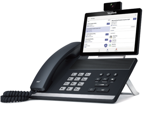 Yealink VP59 Gigabit IP Touchscreen Video Phone - Microsoft Teams
