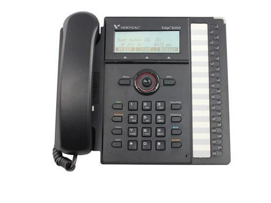 Vertical MBX/SBX 24 Button IP Phone w/ Power Supply (8024-00)
