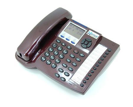 Xblue Networks 45PEKT-RM Red 30-Button 6-Line Digital Display Phone