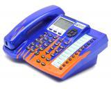 Xblue Networks 45PEKT-XB Blue 6-Line Phone Custom Paint W/Flames