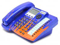 Xblue Networks 45PEKT-XB Blue 6-Line Phone Custom Paint W/Flames