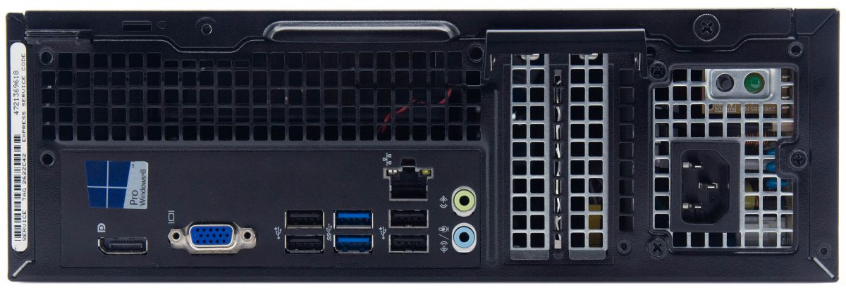Dell OptiPlex 3020 Computer Interface View