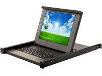 "Kontron RPD 1511B Rack Console 15"" Grade B LCD w/ Rails"