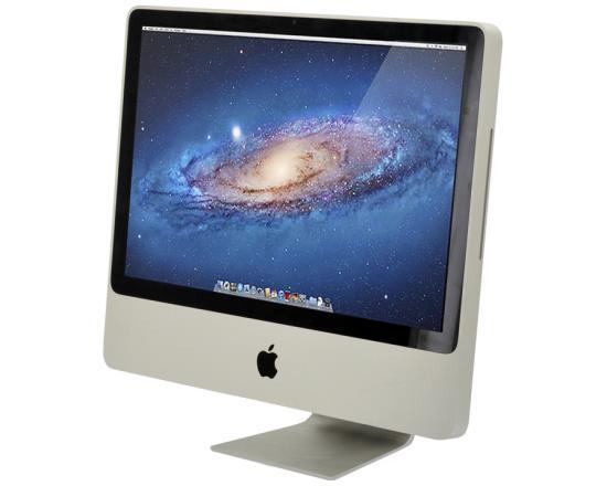 "Apple iMac 8.1 A1224 20"" AiO Computer Intel Core 2 Duo (E8135) 2.4GHz 1GB DDR2 250HDD"