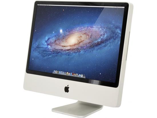 "Apple iMac A1225 24"" AiO Computer Intel Core 2 Duo (E8335) 2.93GHz 4GB DDR3 250GB HDD"