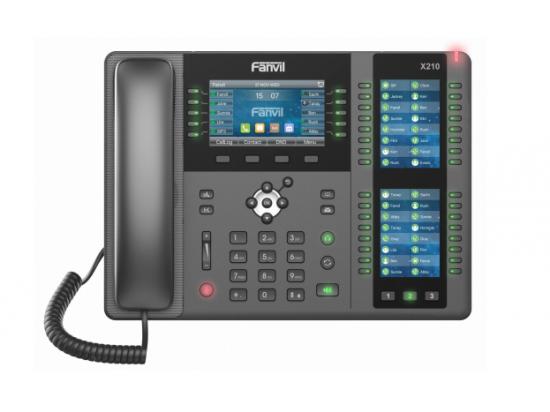 Fanvil X210 42-Button Gigabit IP Display Phone
