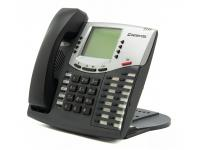 Inter-Tel 550.7300 Charcoal Digital Display Speakerphone - Grade B