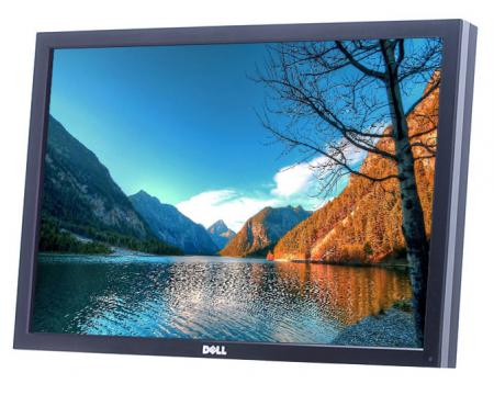 "Dell U2410 24"" Widescreen LED IPS LCD Monitor - Grade B - No Stand"