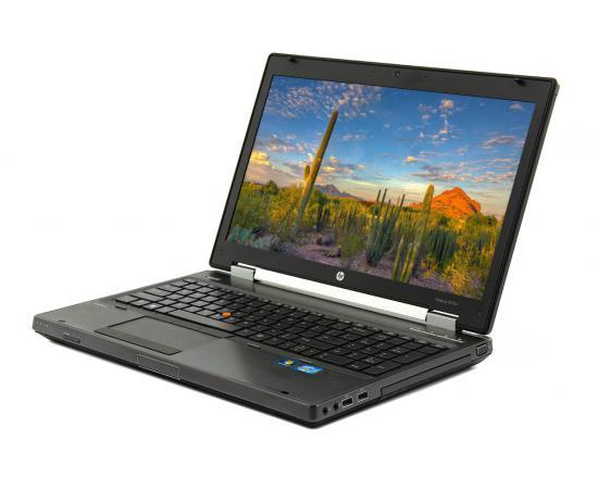"HP EliteBook 8570w 15.6"" Laptop i7-3610QM 2.3GHz 8GB DDR3 256GB SSD - Grade C"