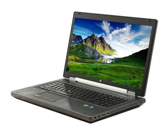 """HP Elitebook 8760w 17"""" Laptop Intel Core i7 (2920XM) 2.5GHz 4GB DDR3 320GB HDD - Grade B"""