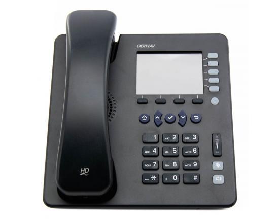 Obihai 1022 Black Gigabit IP Display Speakerphone