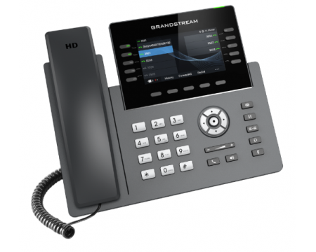 Grandstream GRP2615 Black Gigabit IP Color Display Speakerphone