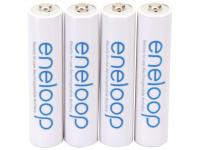 Panasonic Eneloop AAA 800mAh Rechargeable Batteries - 4 Pack