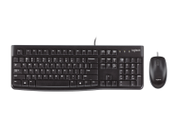 Logitech MK120 Desktop Mouse and Keyboard Combo (920-002565)