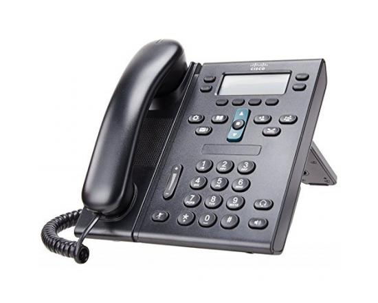 Cisco IP CP-6941 Charcoal Standard Phone