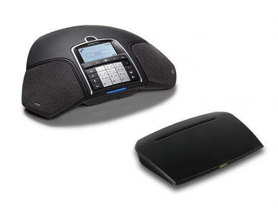 Konftel 300Wx-IP Wireless Conference Phone and IP DECT Base Station