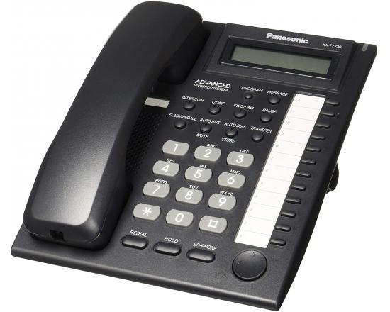 Panasonic KX-T7730-B Black Display Speakerphone - Grade A
